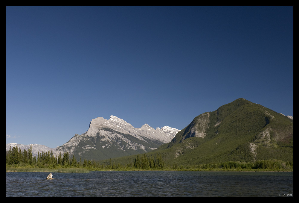 Vermillion Lakes bei Banff